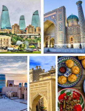 Azerbaijan and Uzbekistan 14 days Private Silk Road Tour
