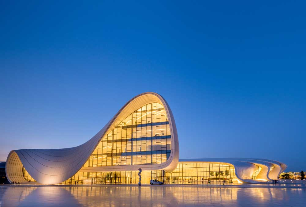Haydar Aliyev Center visit