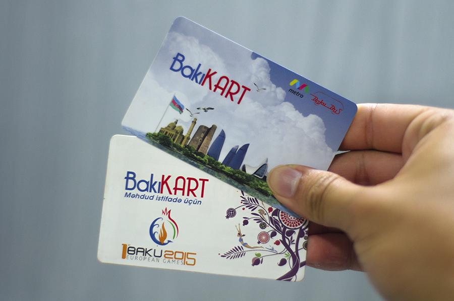 Baku carts for public transport