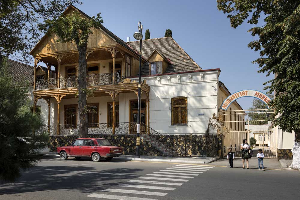 German style house in Azerbaijan