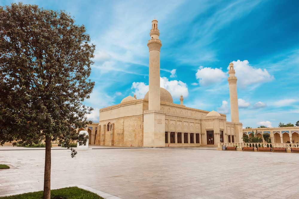 Juma Mosque in Shamakhi